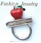 Apple for Teacher Eye Glasses/Badge Holder -only 2 left!