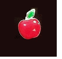 Apple Lapel Pins - 10 PAK
