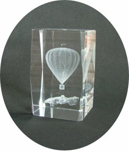 Are you soaring to great heights?? See our collection of Hot Air Balloon Lazer Crystals