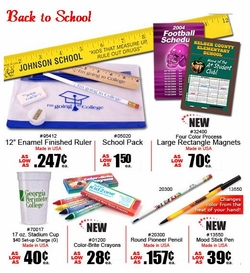 Back to School<BR> Necessities