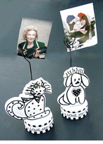 Cat & Dog Lovers Photo/Note holder - ON SALE!