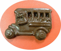 Chocolate School bus. YUM!