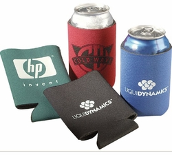 Collapsible Can Cooler/Koozie -100 pc. minimum