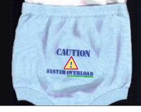 Computer Baby Pants - WARNING!