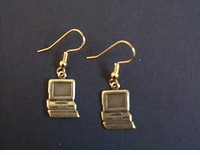 Economy Computer Earrings