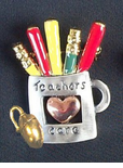 Computer Teachers Care Pin