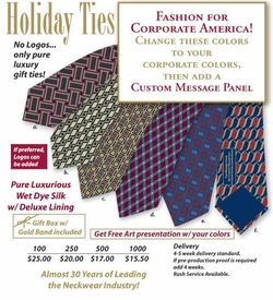 Custom Neckties & Scarfs on Sale