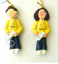 Cute iPod / MP3 Ornaments