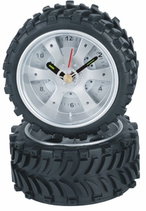 Cute Rubber Tire Clock by Maples
