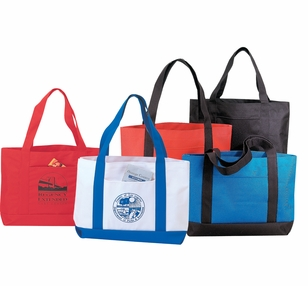 Economy Poly Boat Tote - Low Minimum
