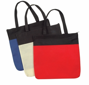 Economy Zippered Tote Special - Low Quantities