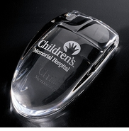 "Etched ""Crystal"" Mouse"