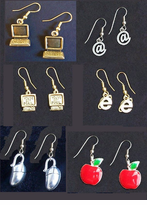 Fun & Dainty Techy & Teacher Earrings