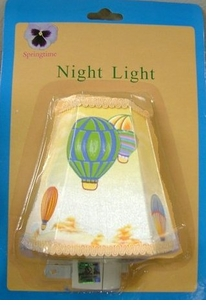 Fun Hot Air Balloon Nite Light