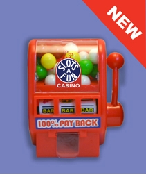 Fun Mini Slot Machine with Gumballs
