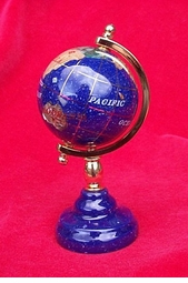 Gemstone Mini Globe