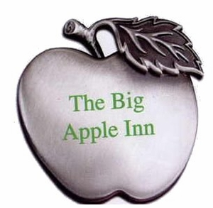Genuine Pewter Apple Award/Ornament