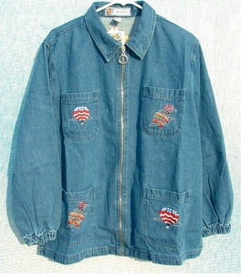 Hot Air Balloon 4 Pocket Jacket - ON SALE!!