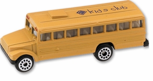 Imprinted Die Cast School Bus