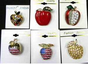 Lots of Great Teacher & Apple Fashion Jewelry !!  ON SALE!