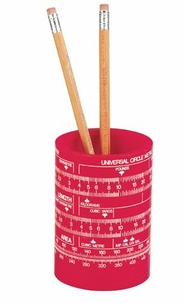 Metric Conversion Pencil Caddy