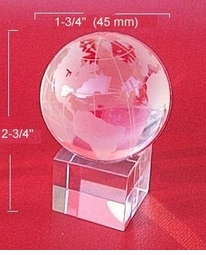 Mini Crystal Globe