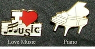 Music Lapel Pins