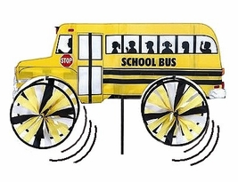 "Economy School Bus Garden ""Spinner"""