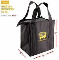 NEW  LARGER Thermal Grocery/Lunch Tote