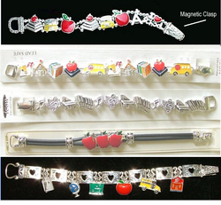 New Magnetic Clasp Teacher Bracelets