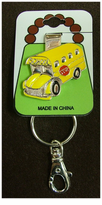 NEW! School Bus Purse Hanger Key Clip