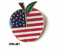Patriotic Apple Jewelry