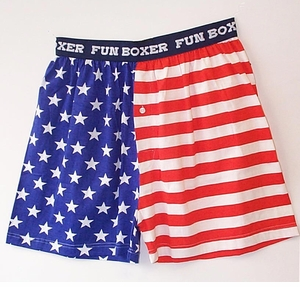 Patriotic Boxer Shorts - 2 styles