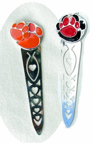 Pawprint Bookmark