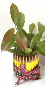 Pencil Design Planter/Pencil Holder