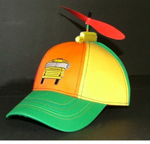 School Bus Driver's Propeller Beanie Hat
