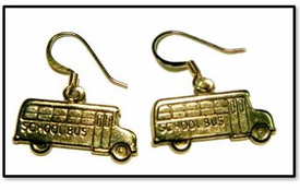 School Bus Earrings - Value Priced!