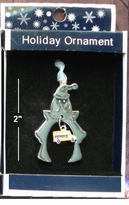 Silvertone School bus Pendant/Ornament - 3 styles