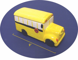 Large School Bus Cookie Jar / Candy Jar