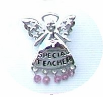 Special Teacher Angel Pin