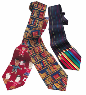 Teacher & School Theme Neckties