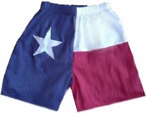 Texas Flag Swim Trunks/Shorts