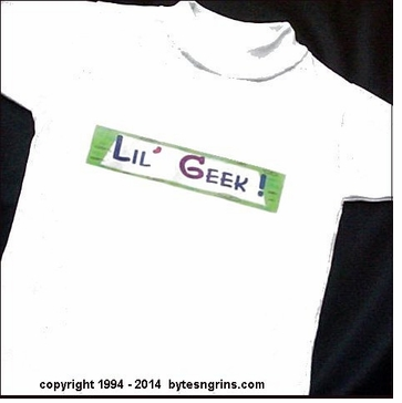 The Littlest GEEK Computer T-Shirt!