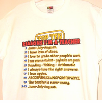 Top 10 Reasons - TShirt for Teacher