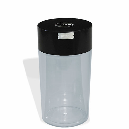 1.3 Liter Clear Tightvac Pipe Tobacco Container Cigar Humidor