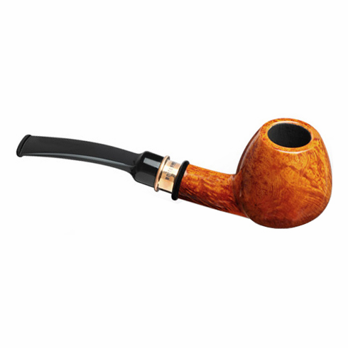 4th Generation 1931 Vintage Natural Smooth Quarter Bent Smoking Pipe