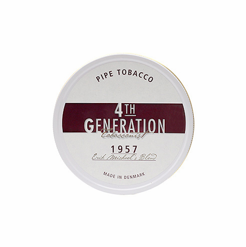4th Generation 1957 Erik Michael Stokkebye Blend Pipe Tobacco Tin