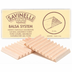 6mm Savinelli Balsa Filters for Smoking Pipes