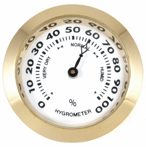 Analog Hygrometer Cigar Humidity Gauge for Humidors