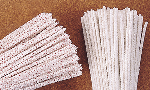 Bristle Scrubbing and Super Absorbent Pipe Cleaners